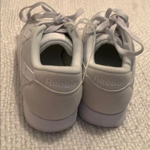 Reebok Shoes - Reebok Classic White Shoes-size 4.5 fits size5